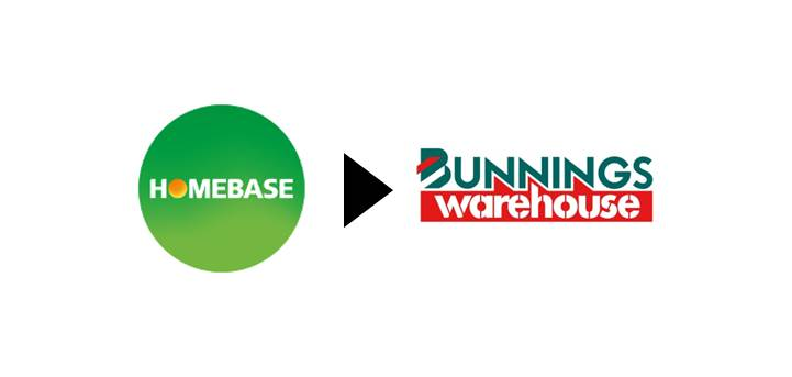 Homebase re-brands as Bunnings