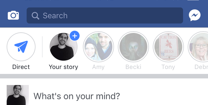 Predicting a happy ending for Facebook Stories