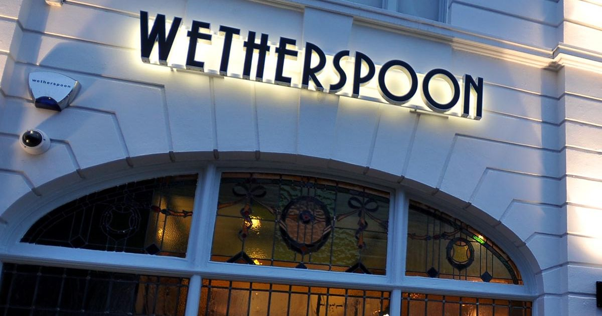 Wetherspoons Social Media Shocker